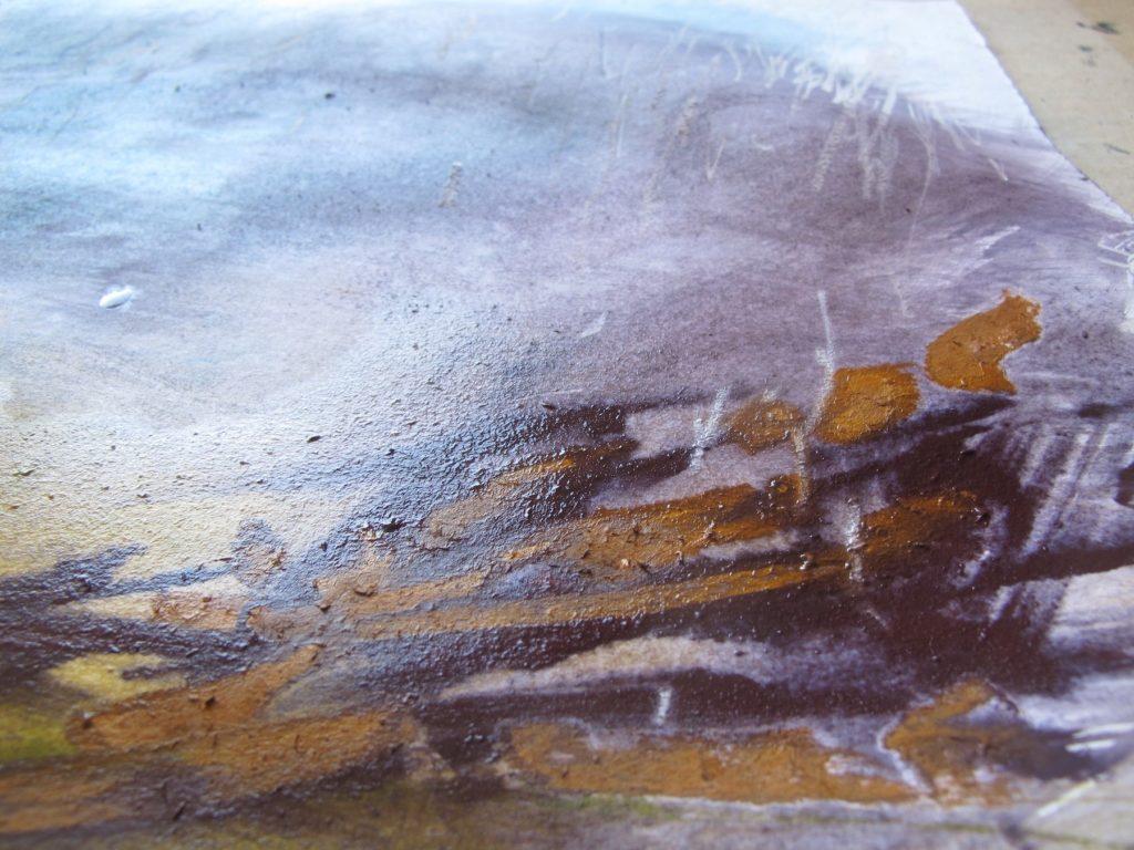 Wet Pastels - Not Dry! 8