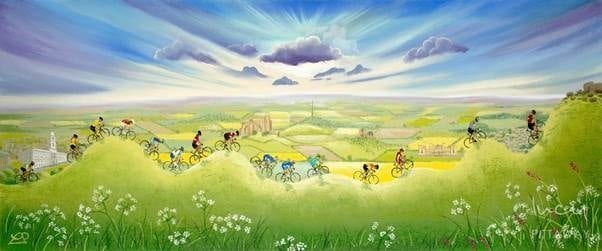 Tour de Yorkshire 2018 Collection, by Lucy Pittaway 3