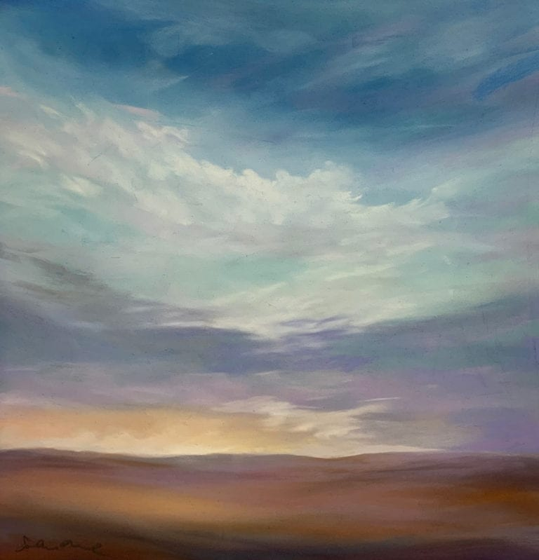 A painting by Sandra Orme