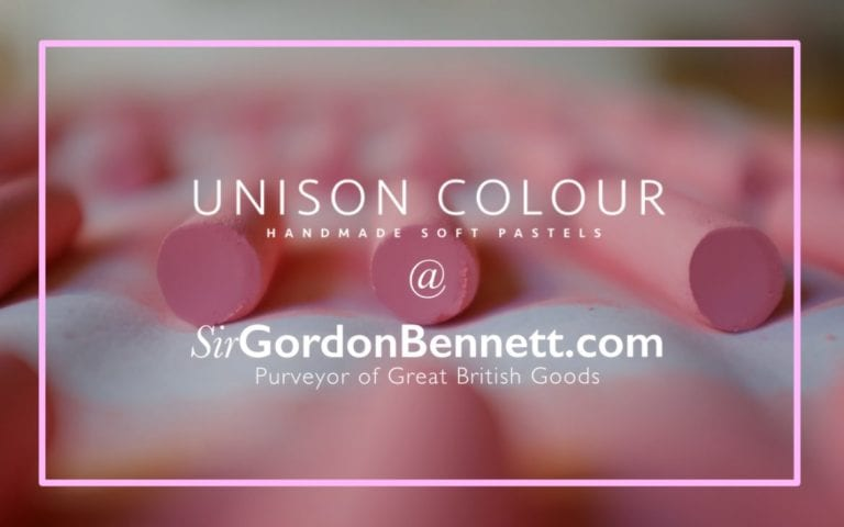 Unison Colour pastels, now available from Sir Gordon Bennett.