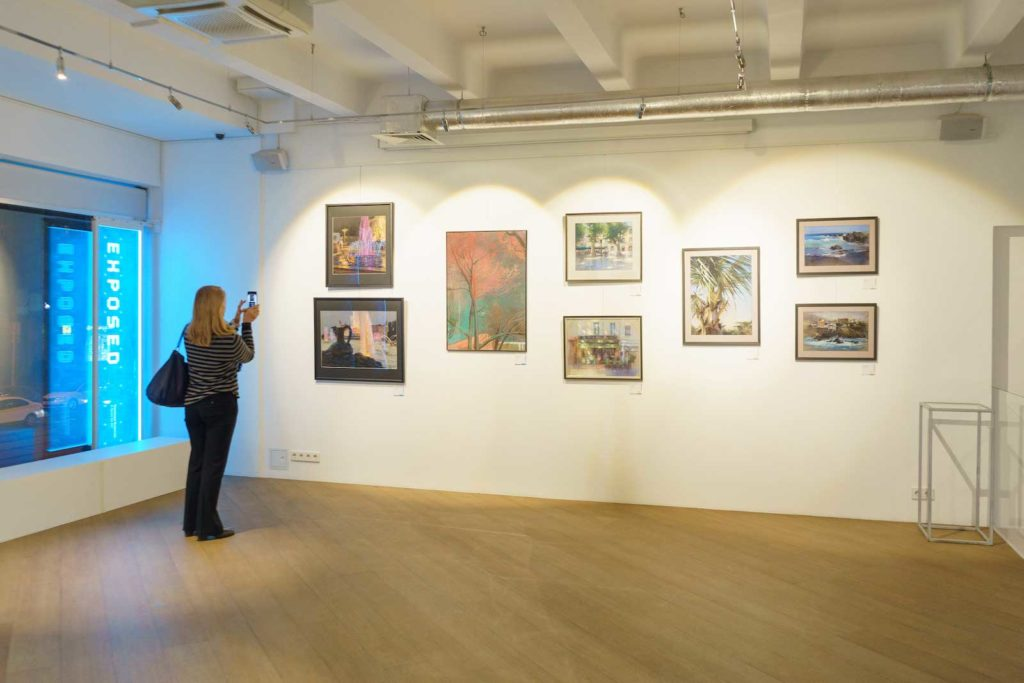 """""""Between Colour and Line"""" - Moscow Exhibition 21"""