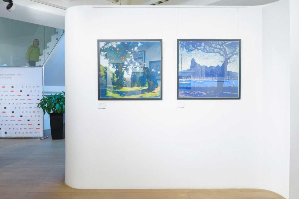 """""""Between Colour and Line"""" - Moscow Exhibition 14"""