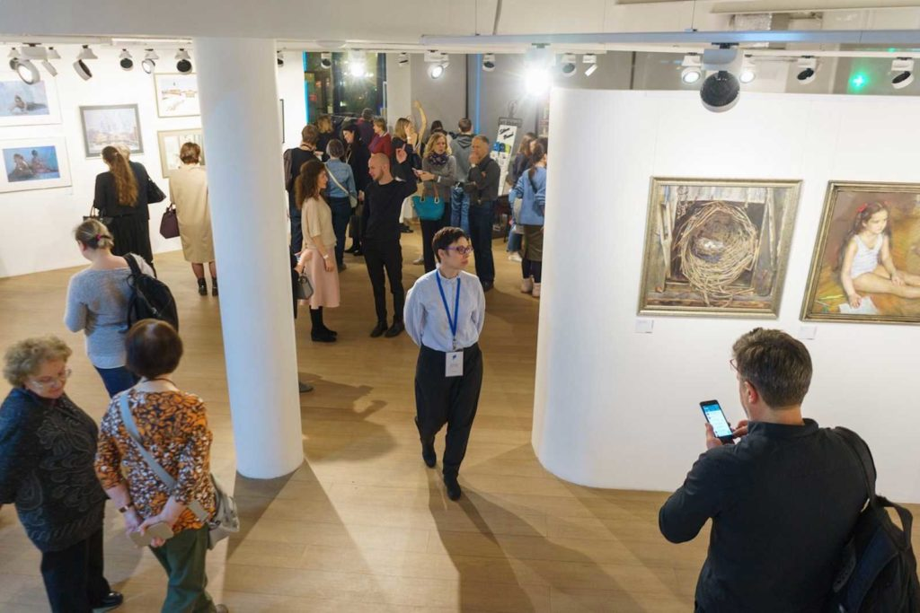 """""""Between Colour and Line"""" - Moscow Exhibition 10"""