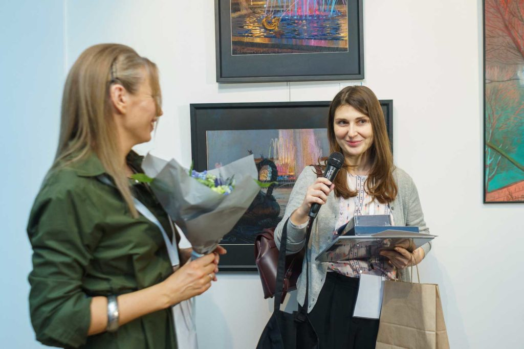 """""""Between Colour and Line"""" - Moscow Exhibition 8"""