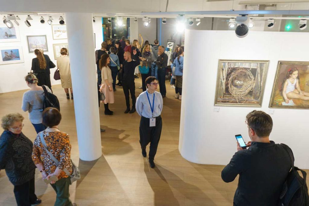 """""""Between Colour and Line"""" - Moscow Exhibition 2"""