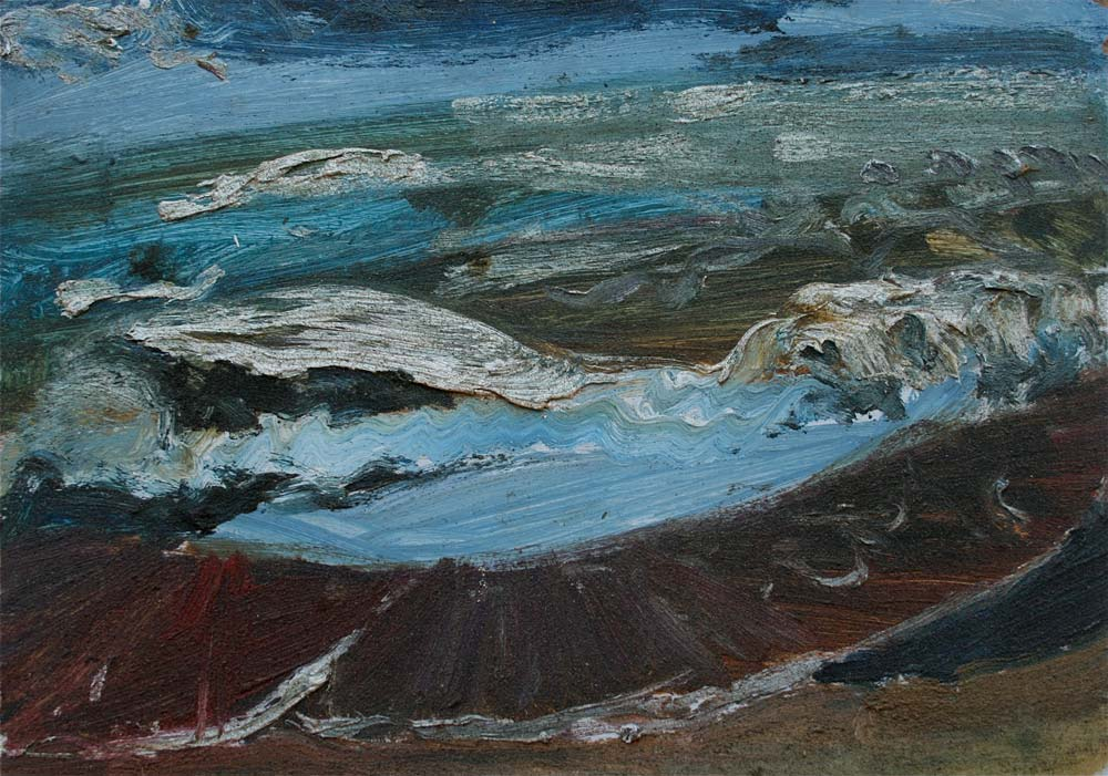 Early Sea Painting: Exmouth Alison Berrett