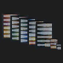Full set of Unison Colour Soft Pastels.