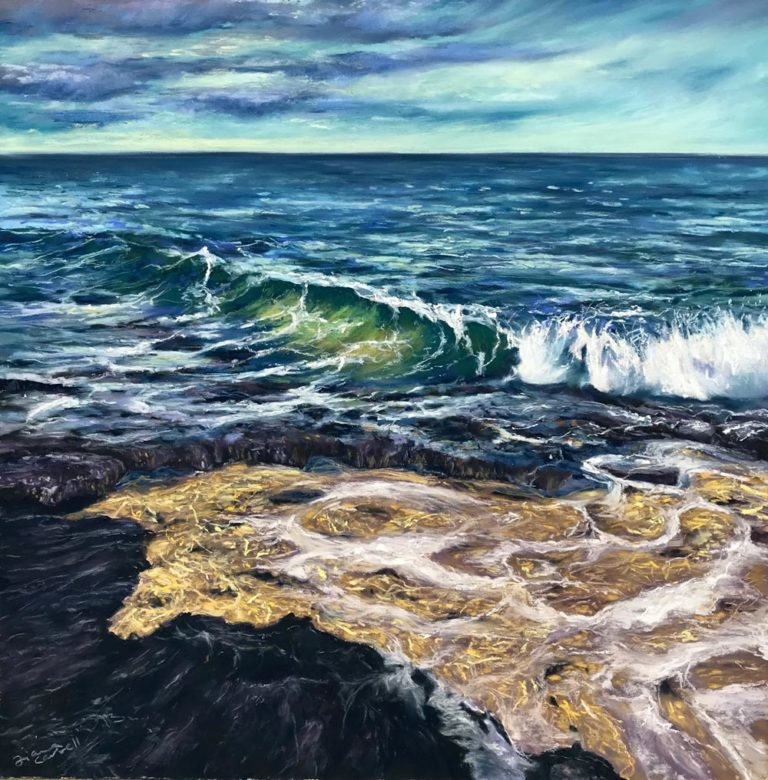 Golden Shores by Fiona Carvell.