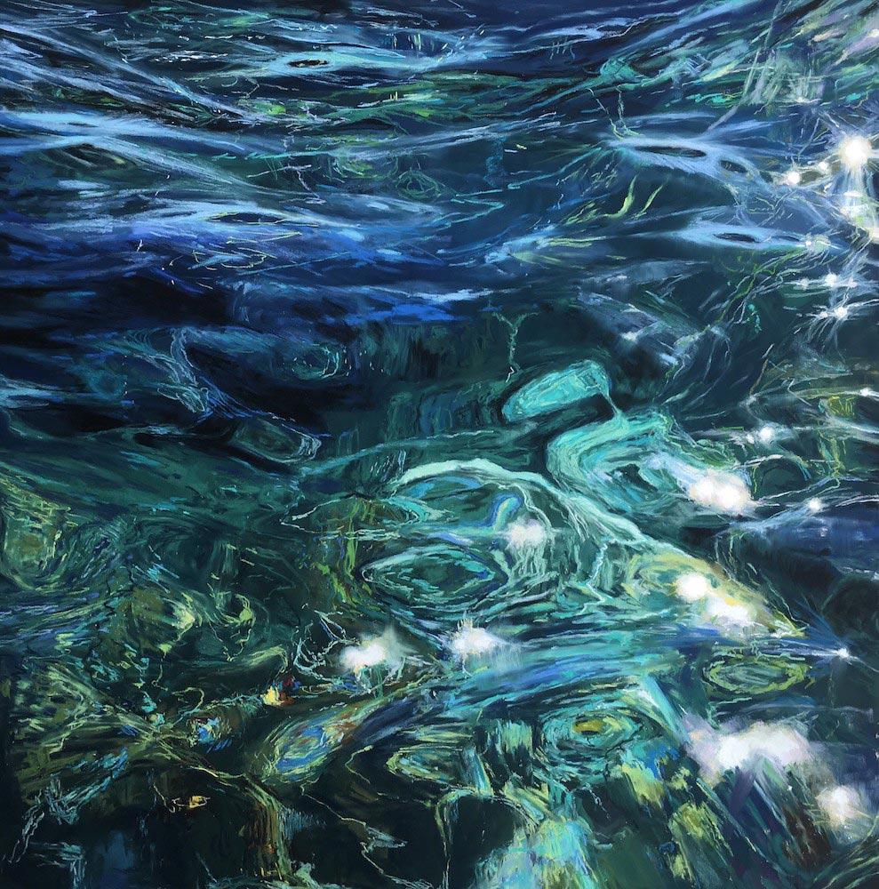 Pastel painting by Elena Degenhardt.