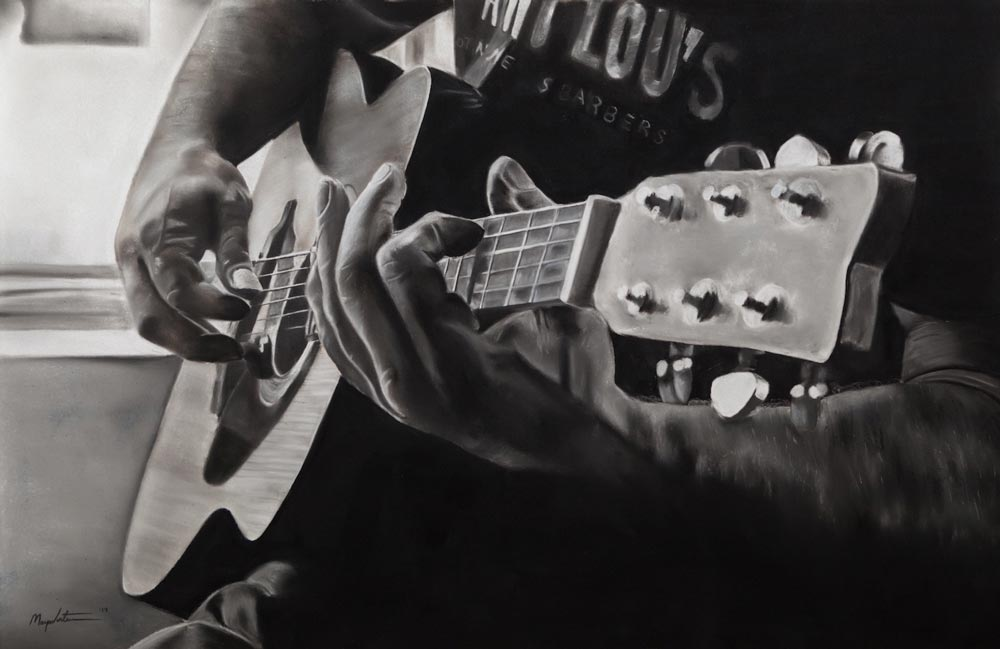 Guitar, by Maya Venters.