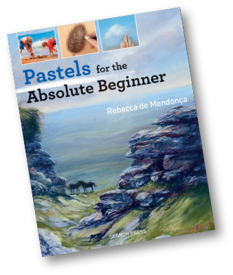 the front cover of the book, Pastels For The Absolute Beginner