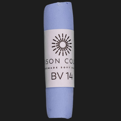 Blue Violet 14 single pastel.