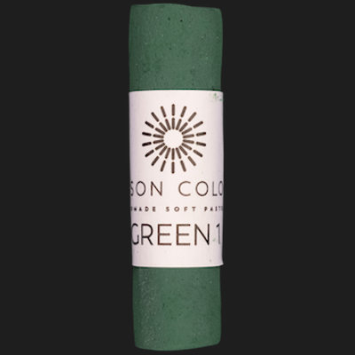 Green 1 single pastel.