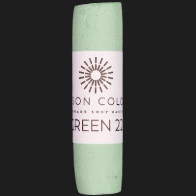 Green 22 singe pastel.