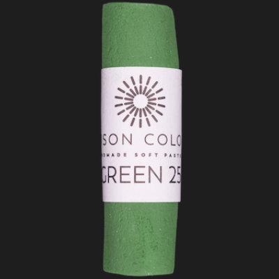 Green 25 single pastel.
