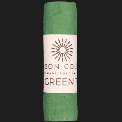 Green 7 single pastel.