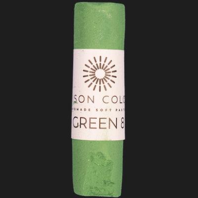 Green 8 single pastel.