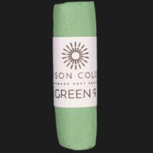 Green 9 single pastel.
