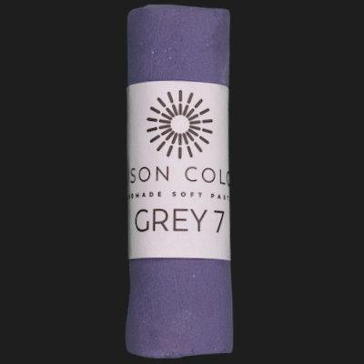 Grey 7 single pastel.