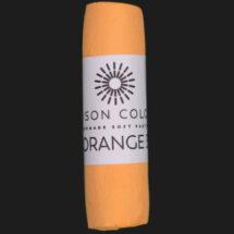 Orange 3 single Unison Colour Soft Pastel.