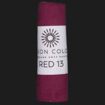 Red 13 single pastel.