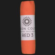 Red 3 single pastel.