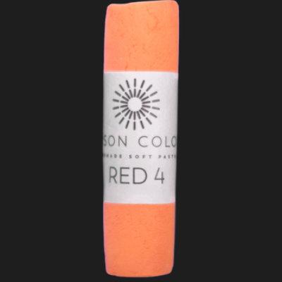 Red 4 single pastel.