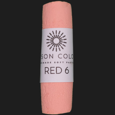 Red 6 single pastel.