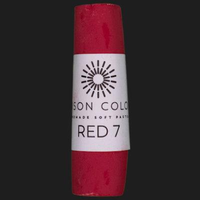 Red 7 single pastel.