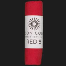 Red 8 single pastel.