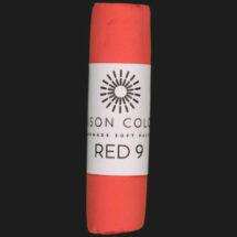 Red 9 single pastel.