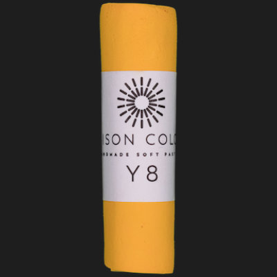 Yellow 8 single pastel.