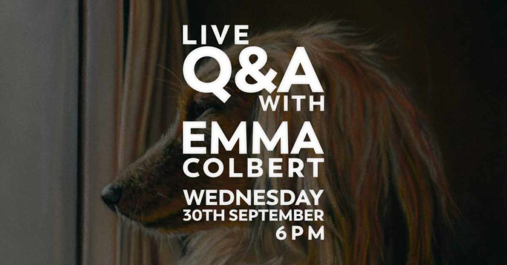 Live Q & A with Emma Colbert