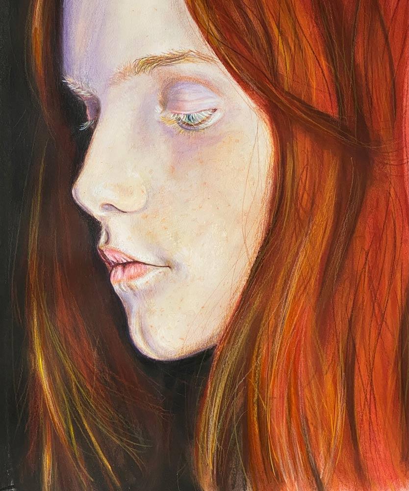 Orange & Pearl, by Jack Barnhill