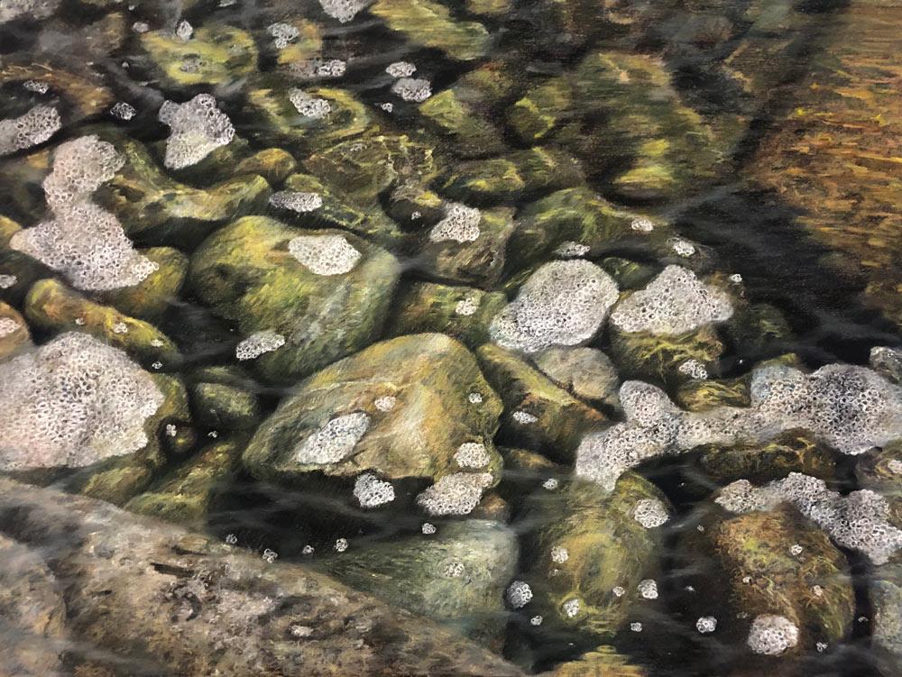 Pastel painting by Francisca Siri.