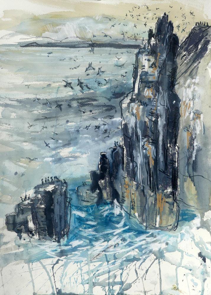 Pilgrim's Haven, by Liz Myhill.