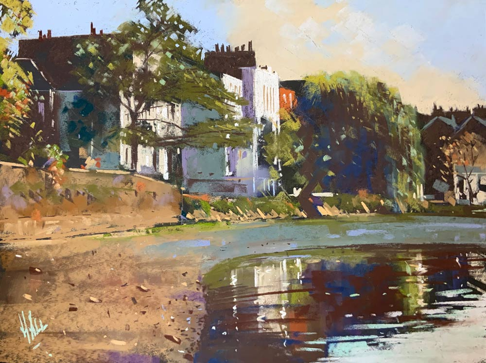 Strand on the Green, by Steve Hall.