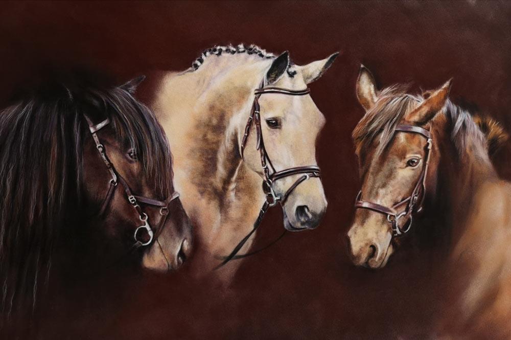 Three Queens, by Estelle Robinson