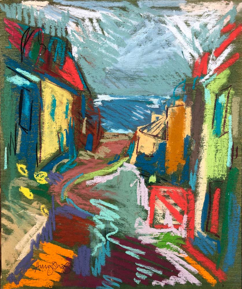Cornwall in Pastel and Paint 1