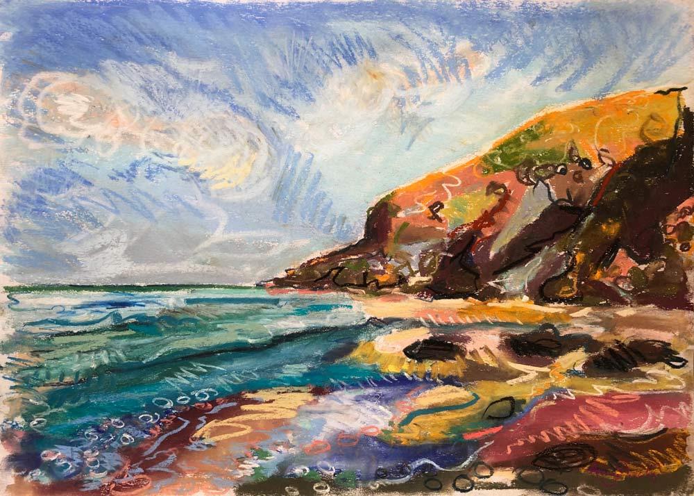 Summer Day Sea, by Amy Shuckburgh.