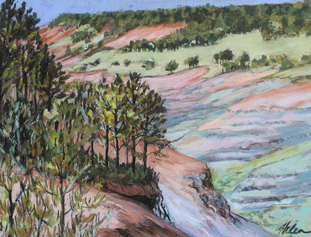 Canyon Plein Air, by Helen Turner