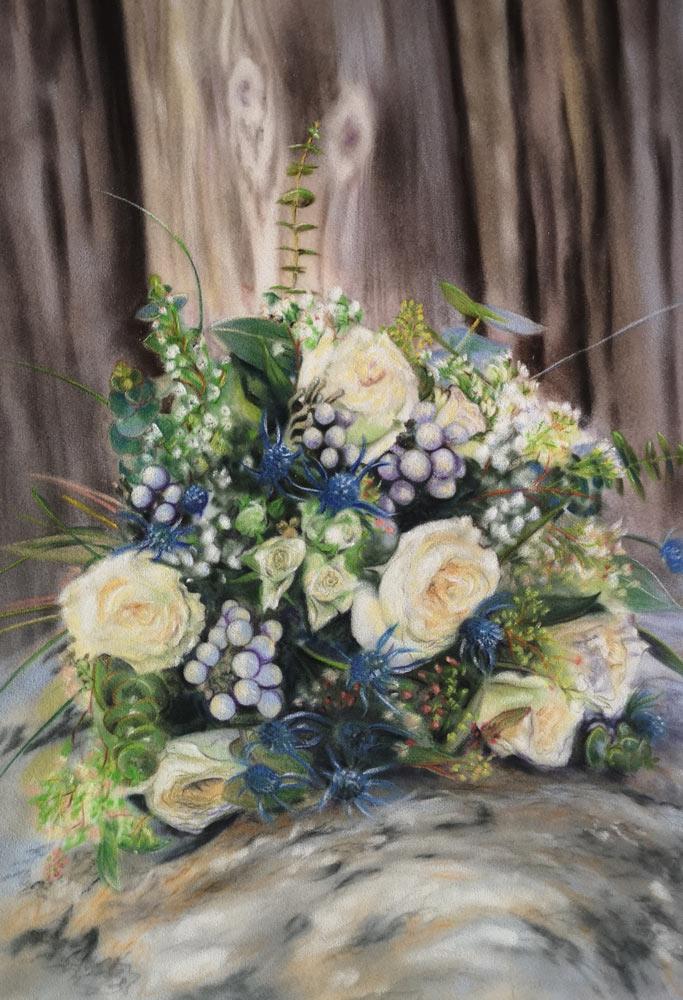 Flowers, by Estelle Robinson.