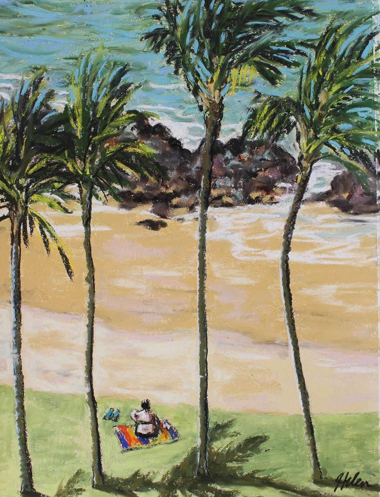 Kalapaki Beach Gal, by Helen Turner