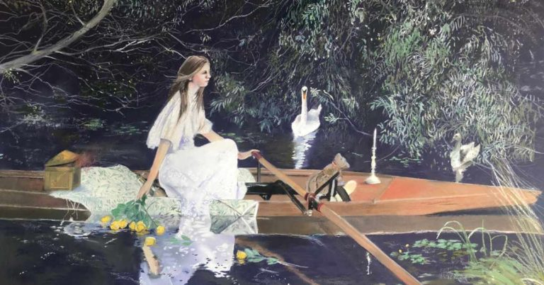Reinventing The Lady of Shalott.