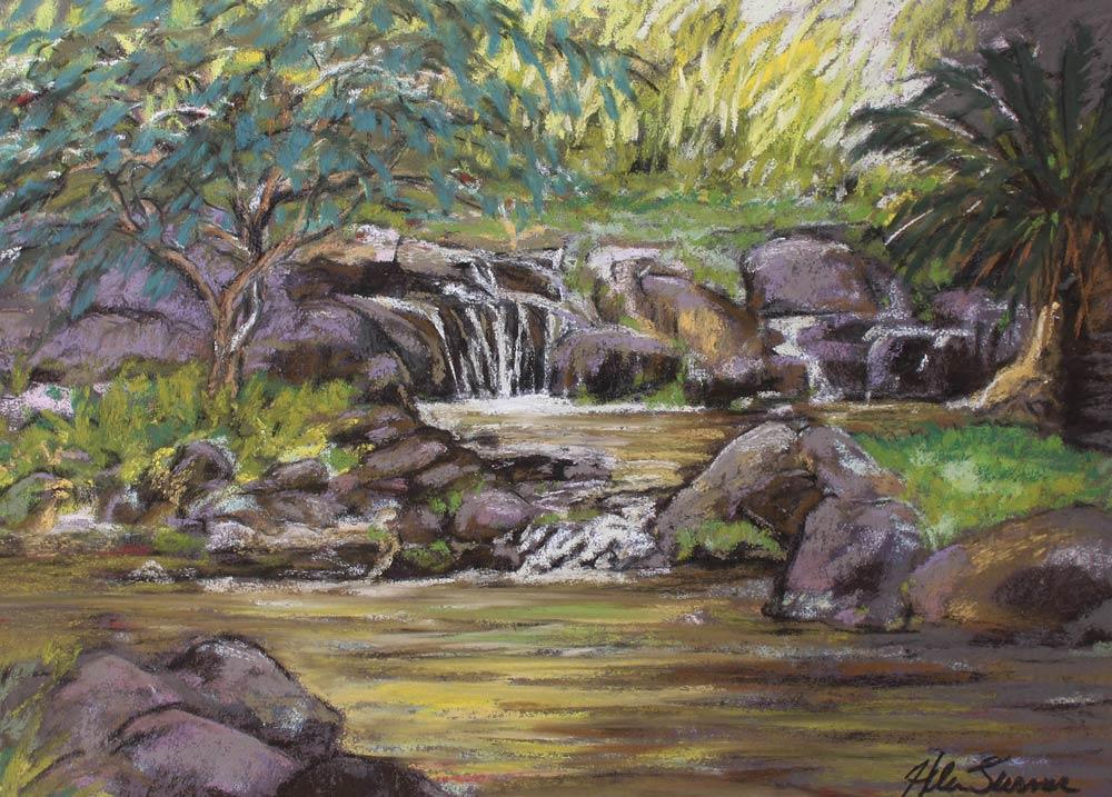 Tropical Garden, by Helen Turner