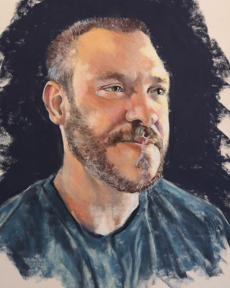 Will Young, by Estelle Robinson