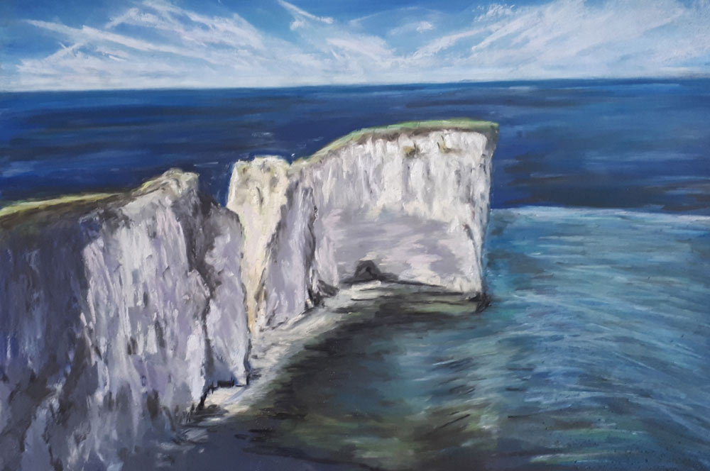 An Artist's Experience: 5 Day Pastel Challenge with Nina Squire, by Mary Waterfall 3