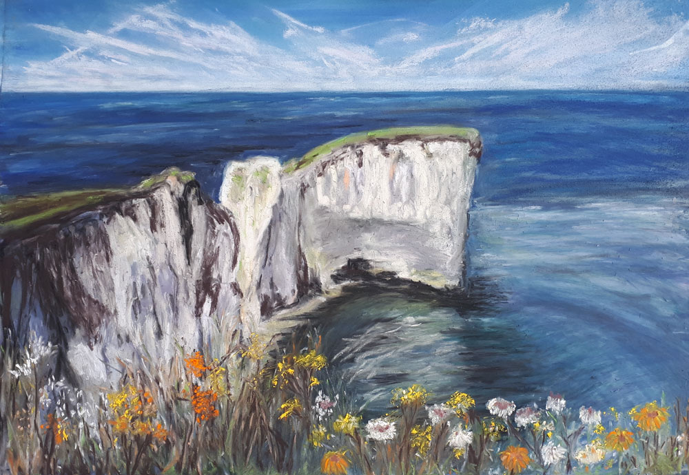 An Artist's Experience: 5 Day Pastel Challenge with Nina Squire, by Mary Waterfall 4
