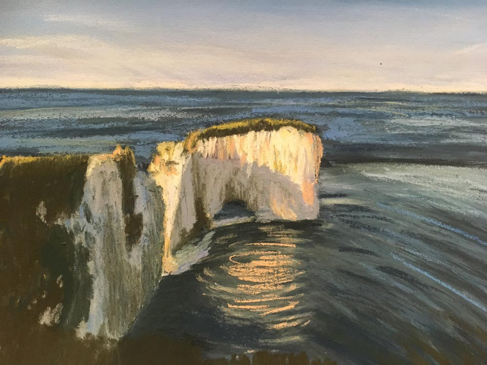 An Artist's Experience: 5 Day Pastel Challenge with Nina Squire, by Sara Lawrence 7