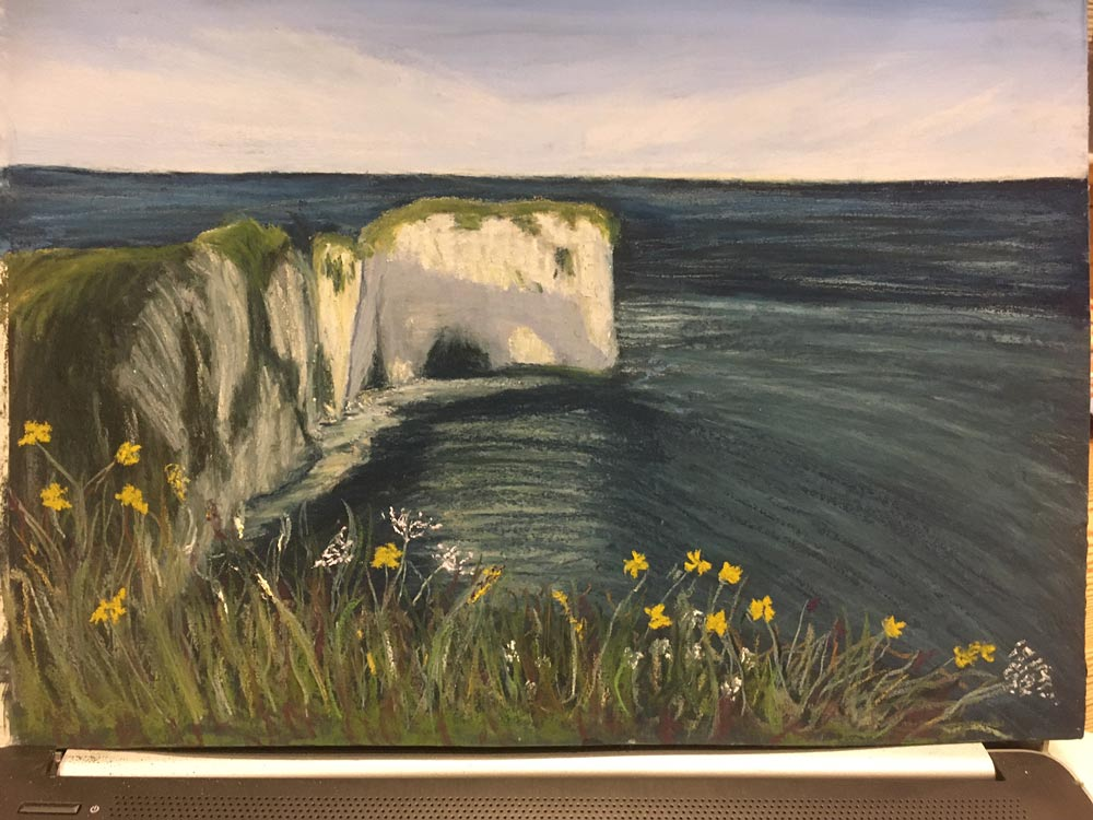 An Artist's Experience: 5 Day Pastel Challenge with Nina Squire, by Sara Lawrence 8